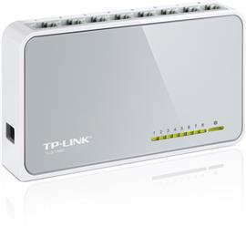 TP-LINK 8-Port 10/100Mbps Desktop Switch, TL-SF1008D