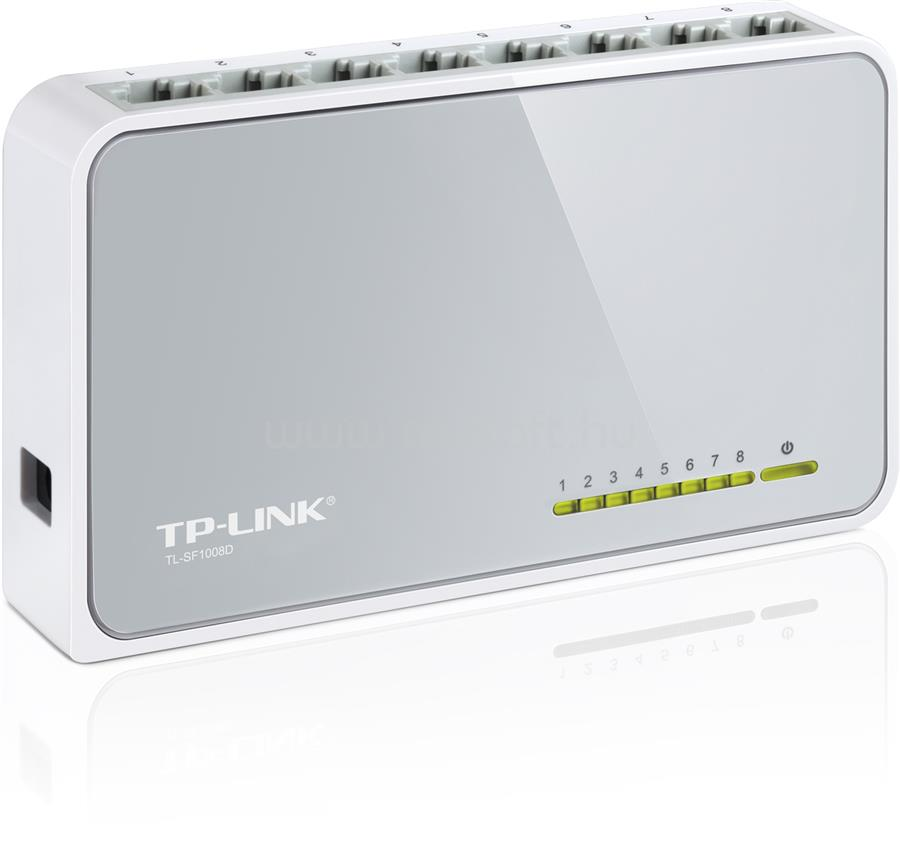 TP-LINK 8 portos 10/100 Mb/s Asztali Switch