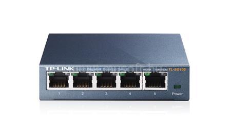 TP-LINK 5 portos, 10/100/1000Mbps Asztali Switch