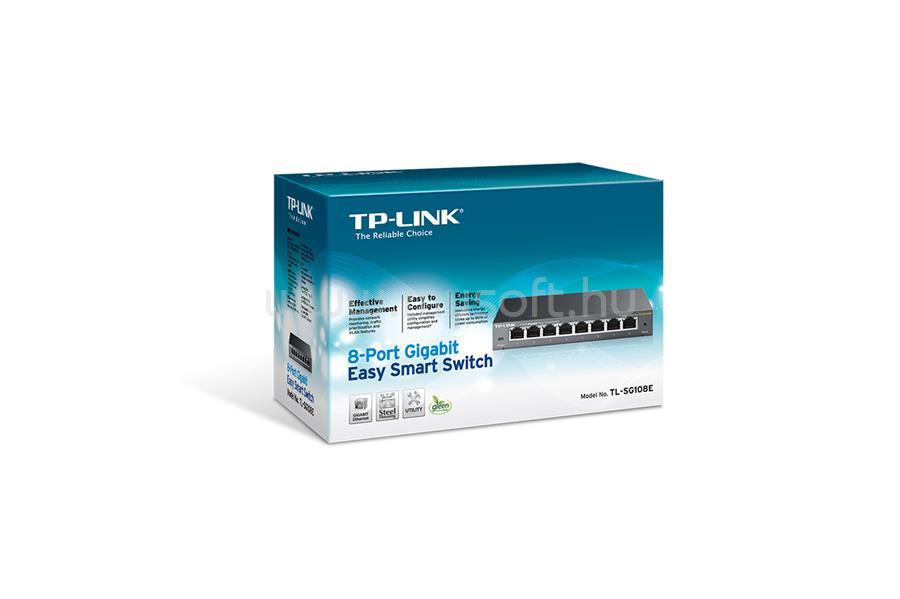TP-LINK 8 portos Gigabites Easy Smart Switch TL-SG108E large