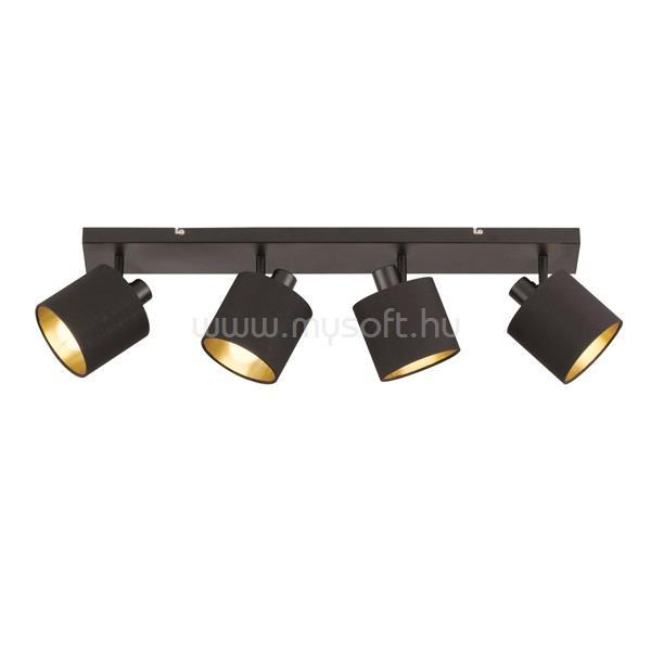 TRIO R80334079 Tommy fekete 4-es mennyezeti spot lámpa