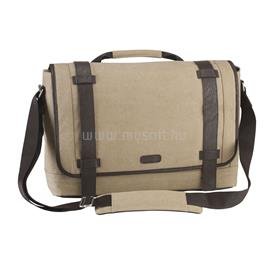 "Targus City Fusion 15.6"" Canvas Laptop Messenger Bag - Beige, TBM06401EU"