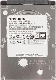 "Toshiba OEM 2,5"" 320GB 5400rpm 8MB SATA 7mm, MQ01ABF032"