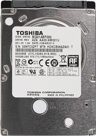 "Toshiba OEM 2,5"" 500GB 5400rpm 8MB SATA 7mm, MQ01ABF050"