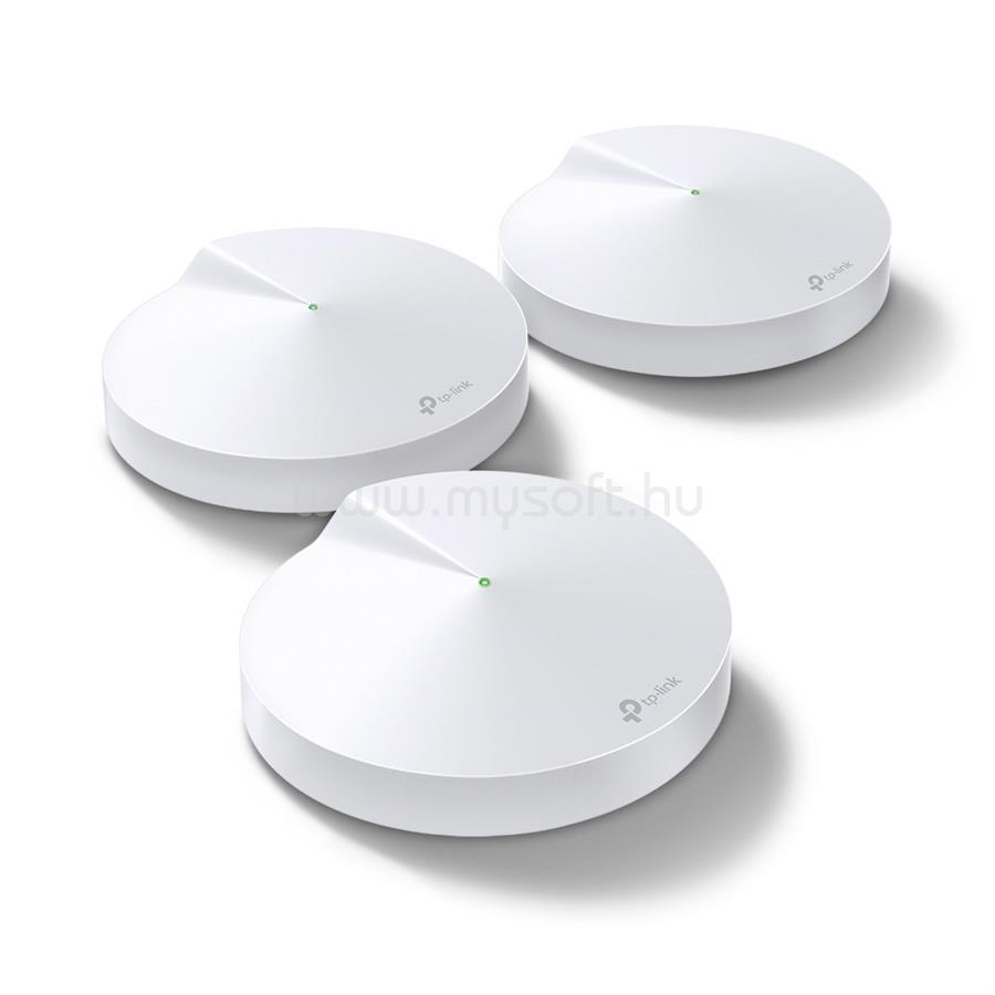 TP-LINK Deco M9 Plus AC2200 Okos Otthon Mesh Wi-Fi Rendszer(3 darabos)
