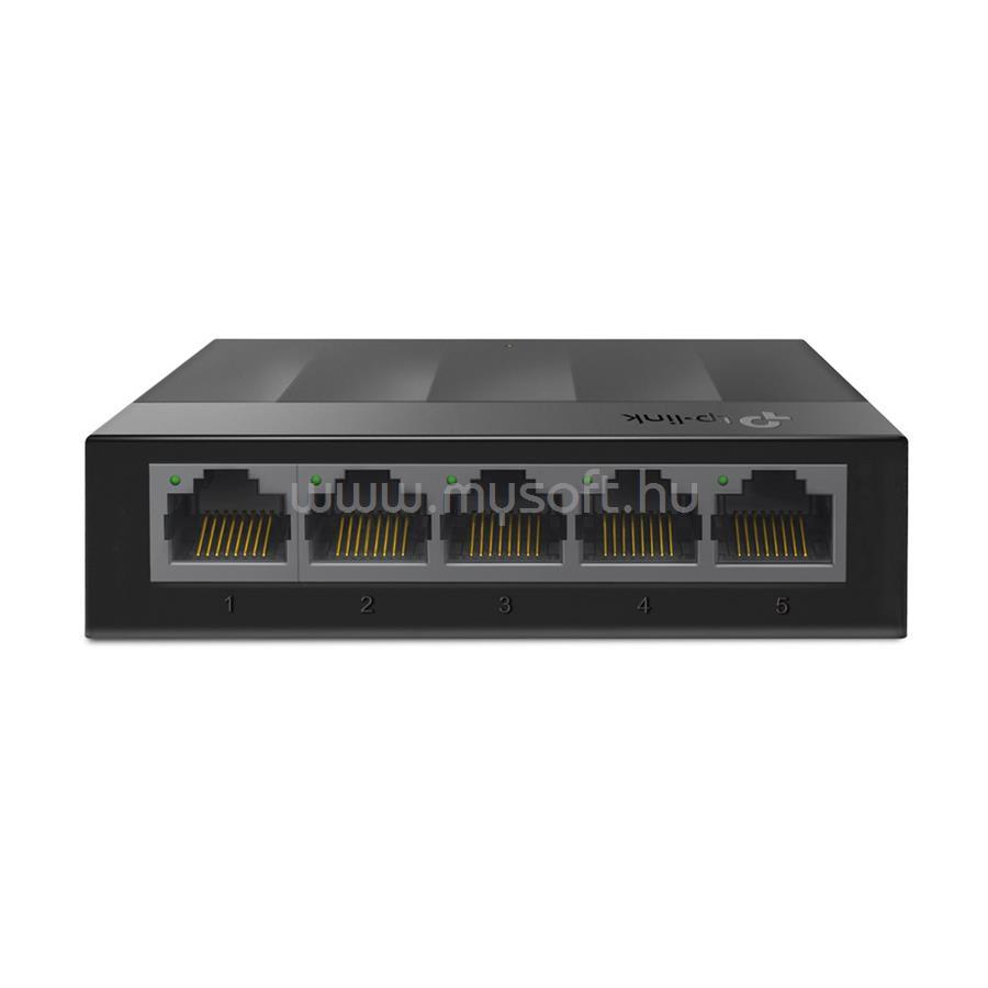 TP-LINK 5portos 1000Mbps, Műanyagházas Asztali Switch