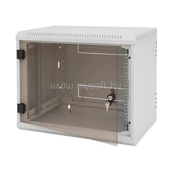 """TRITON 19"""" 4U 395 mm mély fali rack szekrény"""