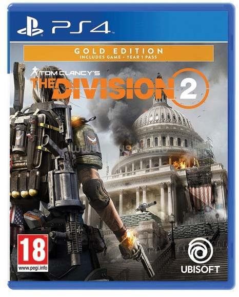 UBISOFT Tom Clancy`s The Division 2 PS4 játékszoftver