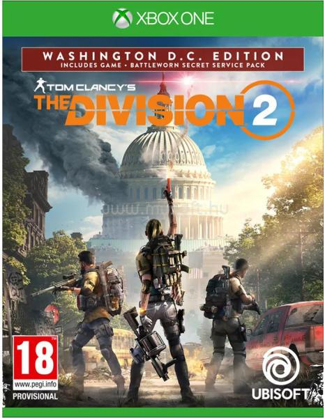 UBISOFT Tom Clancy`s The Division 2 XBOX One játékszoftver