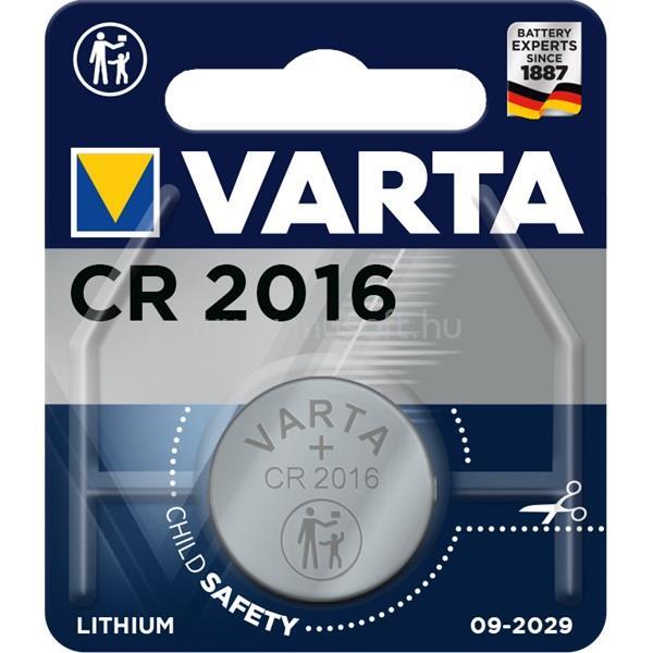 VARTA CR2016 lítium gombelem 1db/bliszter