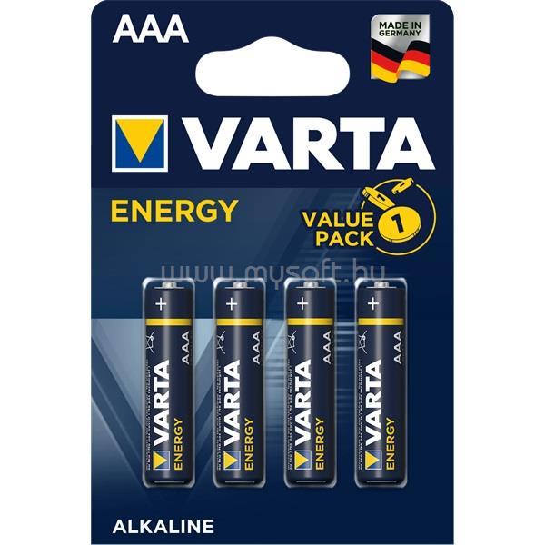VARTA Energy AAA LR03) alkáli mikro ceruza elem 4db/bliszter
