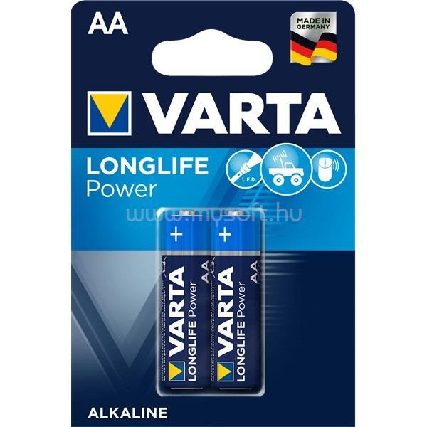 VARTA Longlife Power AA (LR6) alkáli ceruza elem 2db/bliszter