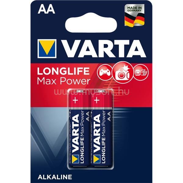 VARTA Max Tech AA alkáli ceruza elem 2db/bliszter