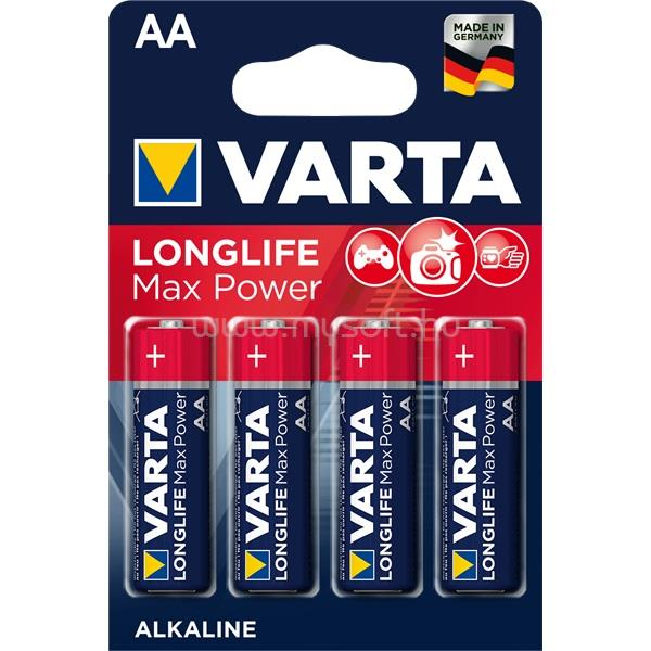 VARTA Max Tech AA alkáli ceruza elem 4db/bliszter