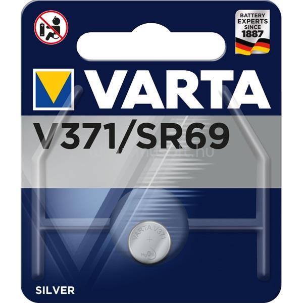 VARTA V377 (SR66) alkáli gombelem 1db/bliszter