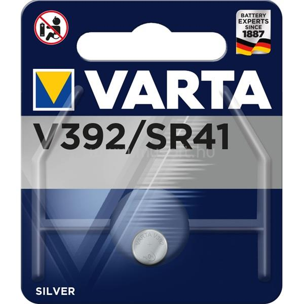 VARTA V392 (SR41) gombelem 1db/bliszter