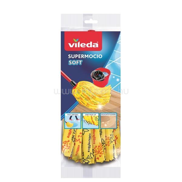 VILEDA Soft 30% mikroszállal sárga gyorsfelmosó fej