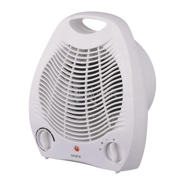 VIVAX FH-2051 ventilátoros hősugárzó, 1000W / 2000W, hőfokszabályozás, álló