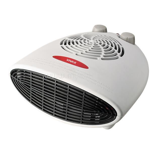 VIVAX FH-2061W ventilátoros hősugárzó, 1000W / 2000W, hőfokszabályozás, fekvő