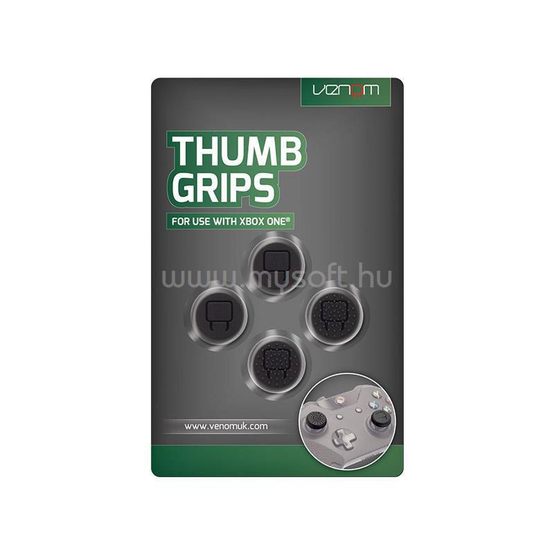 VENOM Thumb Grips (4 db) Xbox One kontrollerhez (fekete)