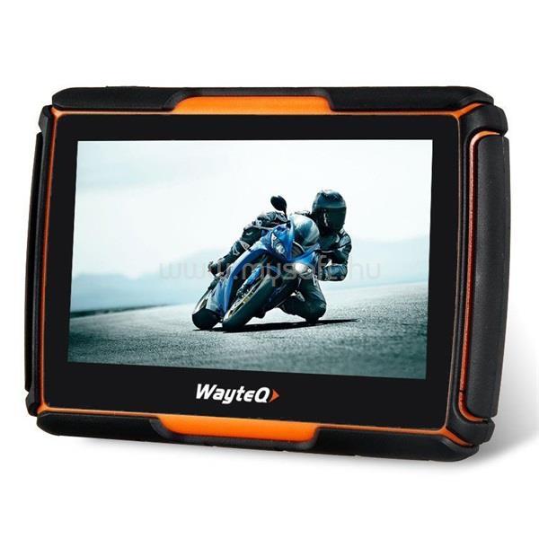 """WAYTEQ xRIDER Smart 4,3"""" térkép nélküli motoros/autós navigáció"""