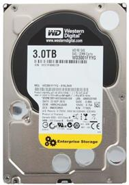 "Western Digital 3.5"", 3TB, 32MB, 7200RPM, SAS 6Gb/s SERVER, WD3001FYYG"