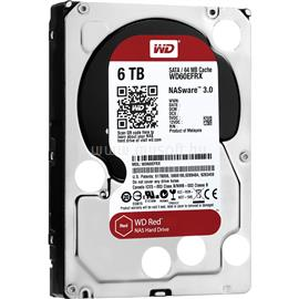 "Western Digital 3,5"" 6000GB belső SATAIII 5400RPM 64MB RED, WD60EFRX"
