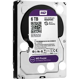 "Western Digital 3,5"" 6000GB belső SATAIII 5400RPM 64MB PURPLE, WD60PURX"