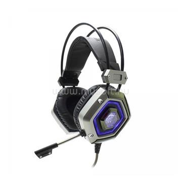 WHITE SHARK LION gamer headset mikrofonnal Fekete/Ezüst