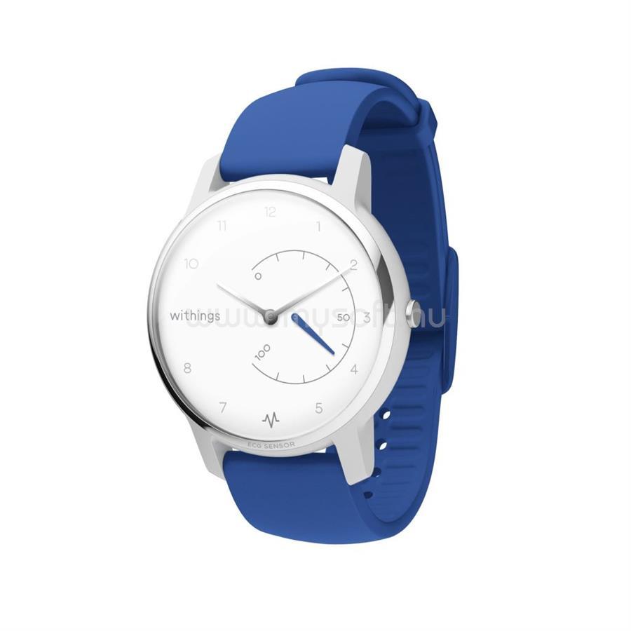 WITHINGS Move ECG aktivitásmérő óra kék-fehér (HWA08-model 2-all)