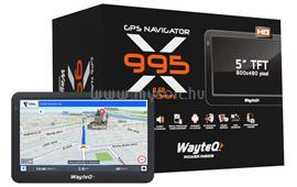 WAYTEQ X995 Android GPS Navigáció  + Sygic Full EU Szoftver WX995FE small