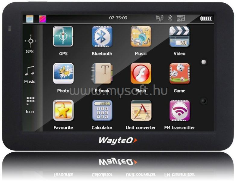 "WAYTEQ PNA 5"" 8GB Bluetooth"