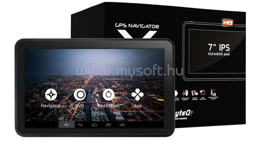 "WAYTEQ X995 MAX 7"" Android GPS navigáció"