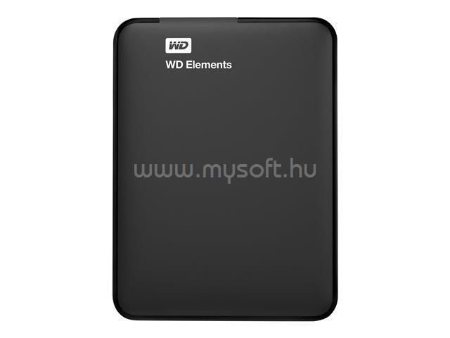 """WESTERN DIGITAL HDD 1TB 2,5"""" USB3.0 Elements, Fekete"""