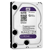 "Western Digital 3,5"" HDD SATA-III 4TB 64MB Cache, Purple, WD40PURX"