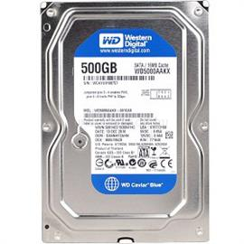 "Western Digital 3.5"" HDD SATA-III 500GB 7200rpm 16MB Cache CAVIAR BLUE, WD5000AAKX"