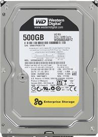 "Western Digital 3,5"" HDD SATA-III 500GB 64MB Cache, Re, WD5003ABYZ"