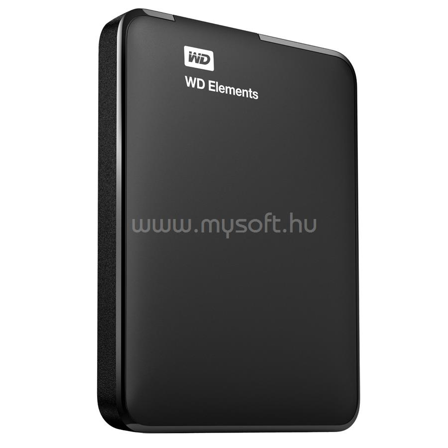 "WESTERN DIGITAL HDD 2TB 2.5"" USB3.0 5400RPM 8MB Cache Elements Portable, Fekete"
