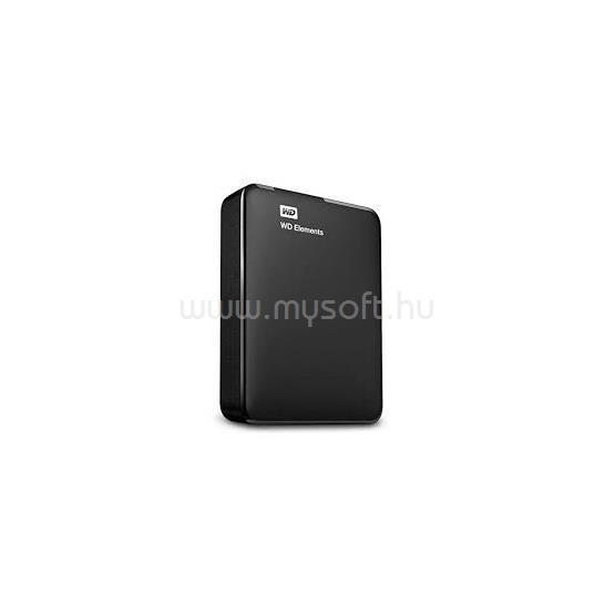 """WESTERN DIGITAL HDD 2TB 2,5"""" USB3.0 Elements, Fekete"""