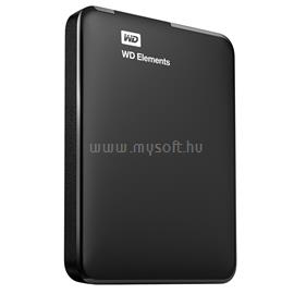 "Western Digital 2.5"" USB 3.0 HDD 1TB ELEMENTS PORTABLE 5400rpm 8MB Cache fekete, WDBUZG0010BBK-EESN"
