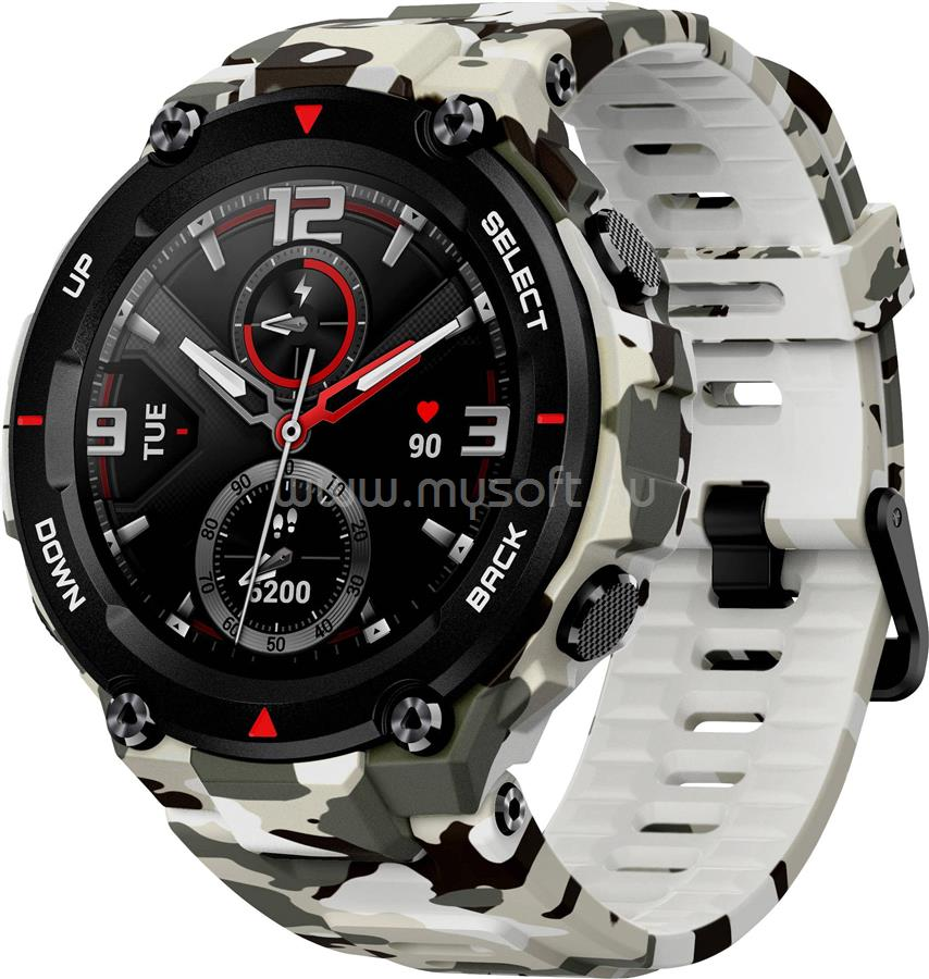 XIAOMI Amazfit T-Rex Smart watch, Camo Green