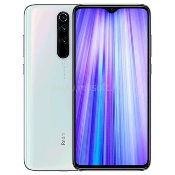 "XIAOMI Redmi Note 8 Pro 6,53"" LTE 6/128GB Dual SIM (Global) Pearl White okostelefon"