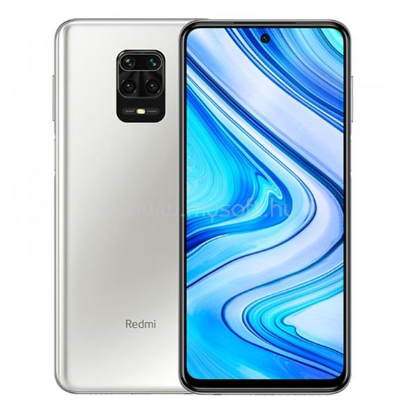 "XIAOMI Redmi Note 9 Pro 6,67"" LTE 6/128GB Dual SIM Gleccser white okostelefon"