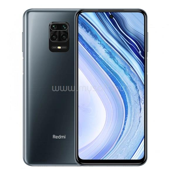 "XIAOMI Redmi Note 9 Pro 6,67"" LTE 6/64GB Dual SIM Interstellar Grey okostelefon"