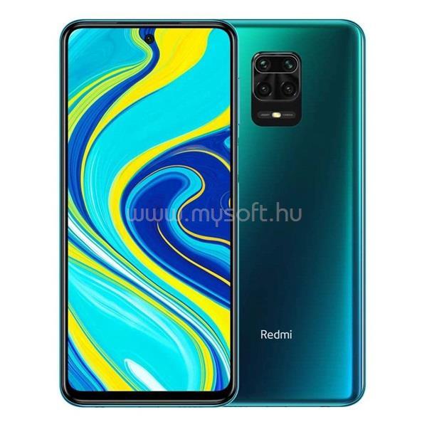 "XIAOMI Redmi Note 9S 6,67"" LTE 6/128GB Dual SIM Aurora Blue okostelefon"