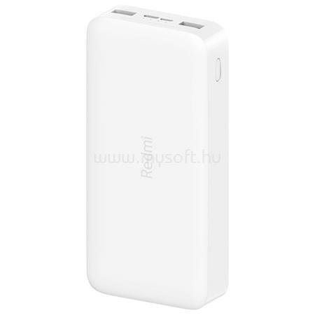 XIAOMI Redmi Powerbank 20000mA fehér power bank