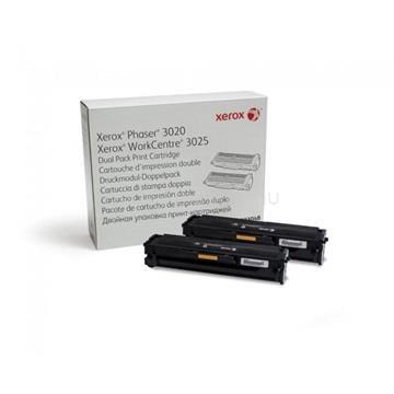 XEROX Toner Phaser 3020/WorkCentre 3025 Fekete 3 000 oldal (2x 1 500 oldal)