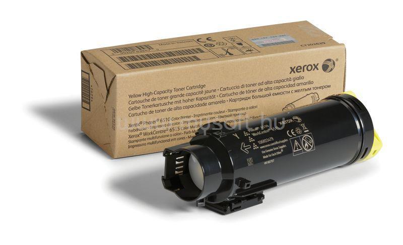 XEROX Toner 6510/6515 Sárga 2 400 oldal