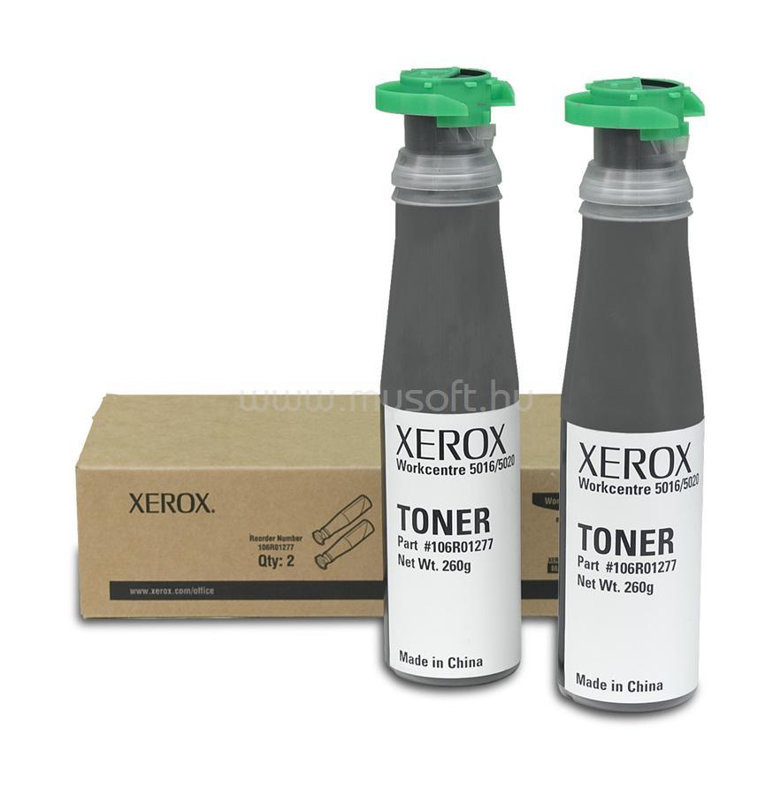 XEROX Toner WorkCentre 5016/5020 Fekete 6300 oldal
