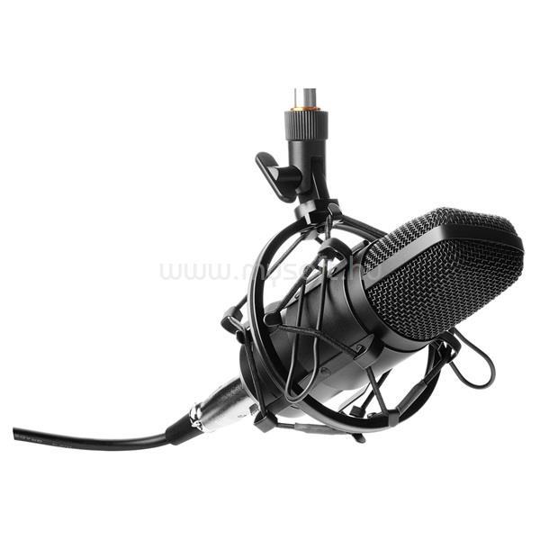 YENKEE YMC 1030 STREAMER/fekete/asztali mikrofon
